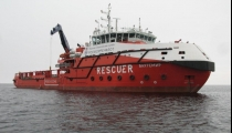 Multipurpose small-draft salvage ship. Project MPSV12