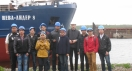 Students of State Marine Technical University of Saint-Petersburg visited Nevsky Shipyard
