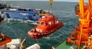"The vessel ""SPASATEL KAREV"" took part in trainings of the Pechora Sea shelf"
